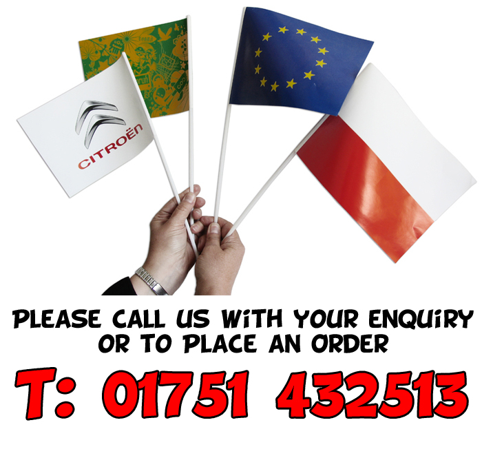 Hand Waving Flags Supplier in York