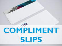 cheap priced compliments slips